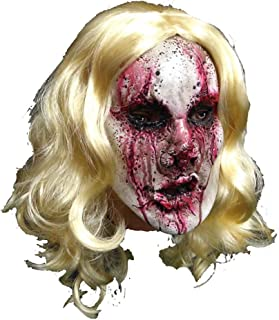 WNGCAR AU Halloween Masquerade Latex Bloody Bloody Female Ghost Horror Party