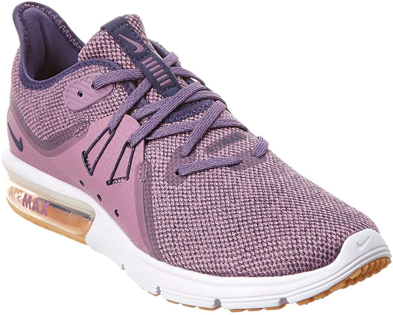 Nike WMNS Air Max Sequent 3 Womens 908993-501 purple DUST Neutral Indigo-Obsidian Running shoes