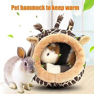 インコ ハムスター用おもちゃ 寝床 巣 小動物用ハウス 吊りベッド ペット用品