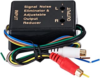 D DOLITY Conversor de áudio para carro adaptador RCA som estéreo interno com cabo