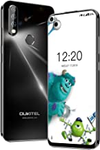 Unlocked Cell Phone, OUKITEL C17 Pro Cellphones 13+5MP Triple-Lens Camera Unlocked Smartphone 6.35 inch Blind Hole Display Mobile Phone 4GB+64GB MT6763 CPU-Black