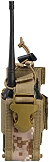 VIPERADE Versatile Radio Holder Case Interphone Pouch, Adjustable Storage Tools Pouch, Multi-Functional Tactical Molle Two...