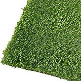 ERPENG Césped Artificial Terraza 5x2m con Alta Densidad - Calidad Profesional Rollo de Césped Artificial fácil instalación con Buen Drenaje para terraza, jardín, Valla, Piscina, Perro etc, Verde