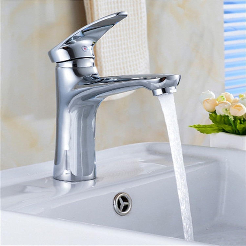 Bijjaladeva Antique Bathroom Sink Vessel Faucet Basin Mixer Tap Modern simple copper alloy hot and cold basin sink faucet sink mixer