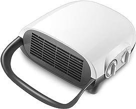 LTLJX Calefactor Baño 1500W Termoventiladores Secar Toallas/Calcetines con Calor y 3 Modo Ventilador de Aire Frío Vertical/Montado en la Pared