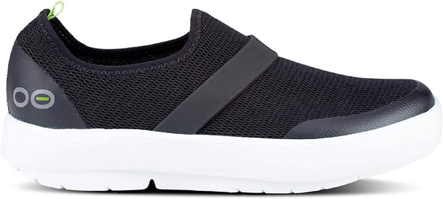 OOFOS OOmg Low Shoe - Lightweight Recovery Footwear - Reduces Pressure on Feet, Joints & Back - Machine Washable - Women's
