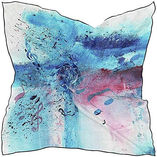 Regan Nehemiah Sjaal Abstract Dier Luipaard Zebra Print Dames Vierkante Zijde Sjaals Sjaal Wikkel Meisjes voor Vrouwen