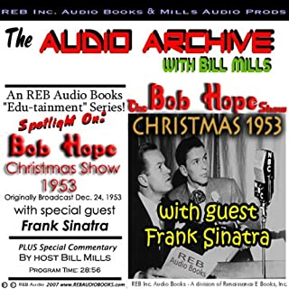 The Bob Hope Christmas Show, 1953 cover art