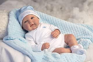 Ann Lauren Dolls 18 Inch Reborn Baby Boy Doll- Made in Spain