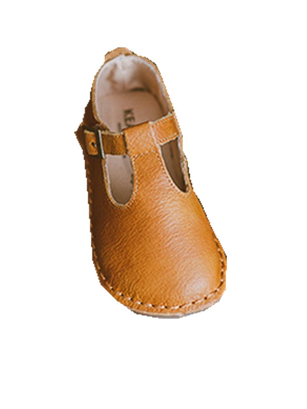 パイプライン謙虚トラクター[KEAI] 子供 靴 女の子 真皮 キッズ フォーマル 靴 軽量 滑り止め加工 プリンセス靴 履きやすい