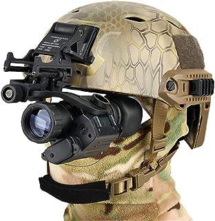 Bras en J PSV-14 pour M88 Mich Fast Lunettes de Vision Nocturne avec Supports NVG WLXW Fixation de Casque Support Accessoire de Casque Tactique Enti/èrement en M/étal
