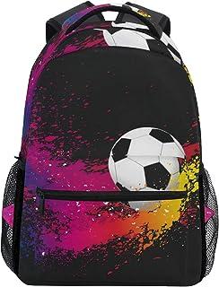 Balón de fútbol Fondo Mochila Escolar para niños Niñas Niños Bolsa de Viaje Mochila