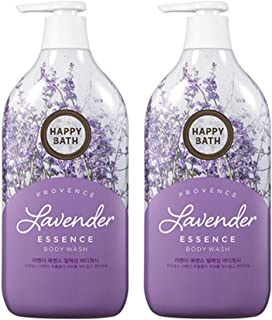 Happy Bath Lavender Essence Body Cleanser 500g (1 Pack)
