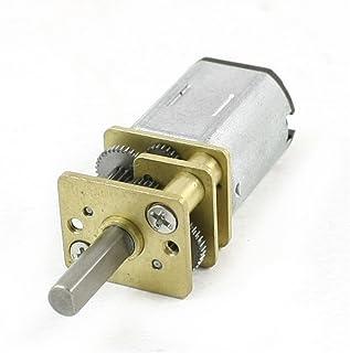 Sourcingmap a13110700ux0220-100 rpm 6v dc engranaje terminal 2 micro motor reductor de velocidad eléctrica