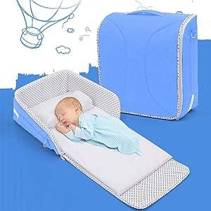 Cokil Portable Baby Sleeping Basket Foldable Multi-functional Crib Cots