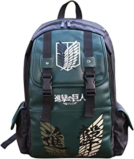 Anime Backpack Knapsack Schoolbag for Boys Girls Students