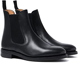 loake black chelsea boots