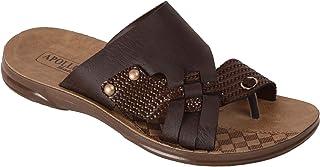 BATA Men Brown Eva Sole Slip On Chappal Sandal