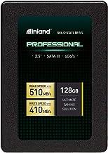 """Inland Professional 128GB SSD 3D TLC NAND SATA III 6Gb/s 2.5"""" 7mm Internal Solid State Drive (128GB)"""
