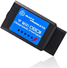 Bafx Products Wireless WiFi (OBDII) OBD2 Scanner & Reader - for iOS/iPhone & Android Devices