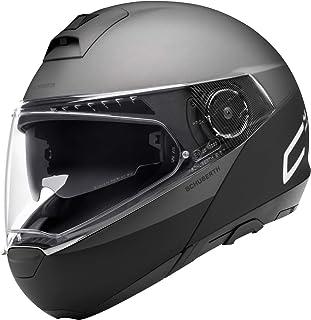 Schuberth C4 Pro Swipe Motorrad Klapphelm Schwarz/Grau L (59)