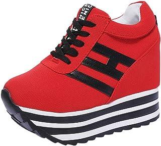comprar comparacion Shoes Mujer Otoño invierno ZARLLE Zapatos Deportivos Zapatillas de Deporte Zapatos Corrientes de Las Mujeres Zapatos plata...
