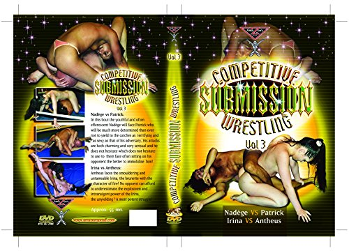 French topless mixed wrestling - COMPETITIVE SUBMISSION WRESTLING VOL.3 (Female vs Male) DVD Amazon's Prod