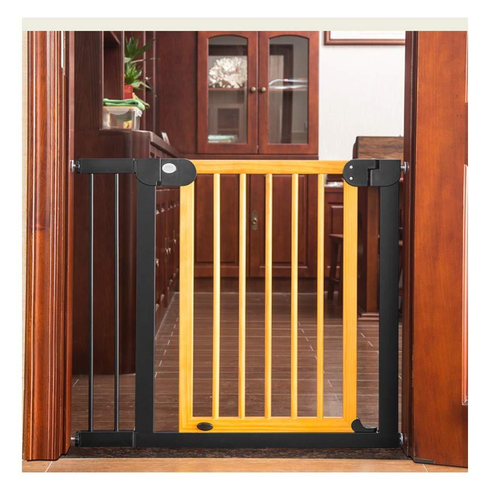 WHAIYAO Bebé Puerta De La Escalera Barrera Mascota Bebé Barandilla Puerta De Aislamiento Montado En La Pared Decorativo for El Hogar Pasillo Escalera, 2 Colores (Color : Yellow, Size : 125-132cm): Amazon.es: Hogar