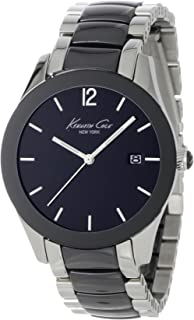 Kenneth Cole New York Women's Japanese Quartz Stainless Steel Case Stainless Steel Bracelet Black(Model:KC4762)