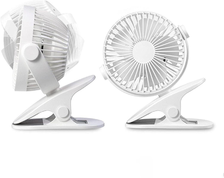 PortableUSBDesktop Fan Clip-on Rechargeable Desktop Mini Courier shipping free shipping Max 65% OFF Fan3