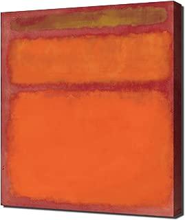 Lilarama USA Mark Rothko - Orange Red Yellow - Canvas Art Print - Wall Art - Canvas Wrap