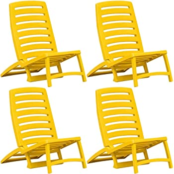 Festnight Chaise de Plage Chaise de Camping Chaise d