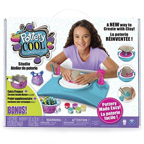 Exclusive Pottery Cool Studio Set Bonus Extra Project Clay Kids Craft Kit