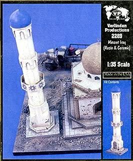 Verlinden 1:35 Minaret Iraq Resin & Ceramic Diorama Kit #2289