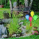 Unbekannt Näve Solar-Luftballonleuchte 4er Set