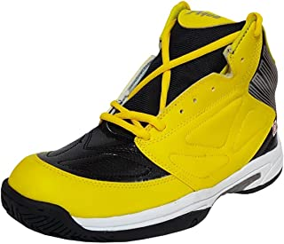 xAQUA Boys Warrior Black and Yellow Basketball Shoes