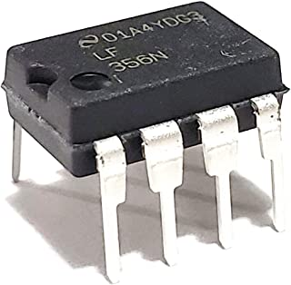 Juried Engineering LF356N/NOPB LF356N LF356 JFET Input Operational Amplifiers Op Amp Breadboard-Friendly IC DIP-8 (Pack of 5)
