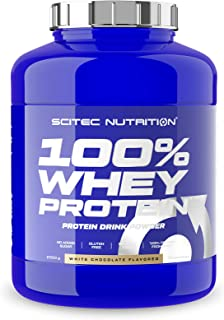 Scitec Nutrition 100% Whey Protein, Flavored Drink Powder with Whey Protein Concentrate and Sweeteners, No added Sugar, Gl...