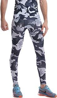 MISSMAO Men's Base Layer/Baselayer Tights Compression Leggings Pants Thermal Skins