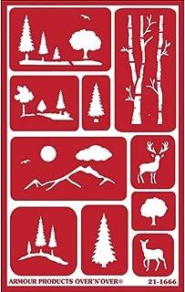 Best wood burning tree stencils Reviews