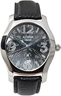 Casual Watch for Men by Accurate, Multi Color, Round, AMQ1736RGTL