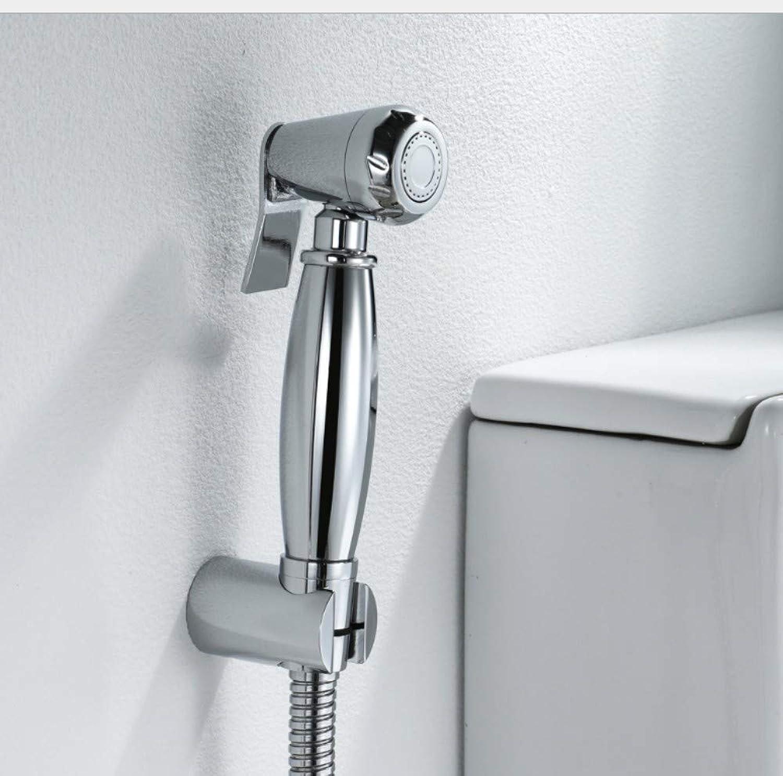 Bathroom Sink Basin Lever Mixer Tap 1.5 M Water Intake Hose Brass Lady Washing Gun Set Toilet Flushing Faucet