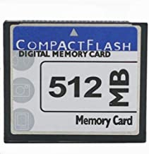 FengShengDa 512MB Compact Flash Memory Card Speed Up To 50MB/s, Frustration-Free Packaging- SDCFHS-512MB-AFFP (512MB)