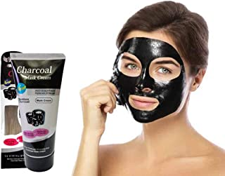 Panch Yash Charcoal Oil Control Anti-Acne Deep Cleansing Blackhead Remover, Peel Off Mask for man & Woman Combo
