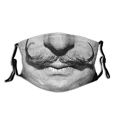 Salvador Dali Mustache Portrait Adults Fashion Personalized Custom Mouth Cover for Protection