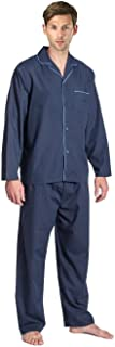 Mens Pyjama Set Nightshirt and Bottoms
