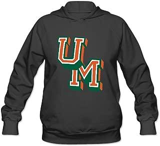 University Of Miami Logo Women's Hooded Sweatshirt