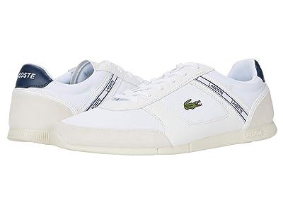 Lacoste Menerva Sport 0120 1 (White/Light Grey) Men