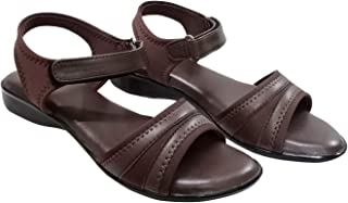 saanvishubh Comfortable Synthetic Leather Slipper with PU Sole for Girls and Women