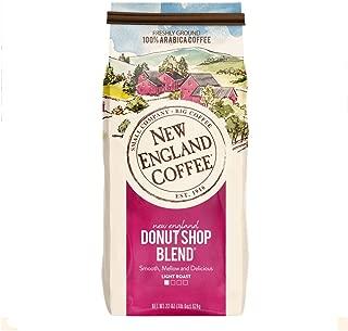 New England Coffee, New England Donut Shop Blend, Light Roast Ground Coffee, 22 Oz Bag